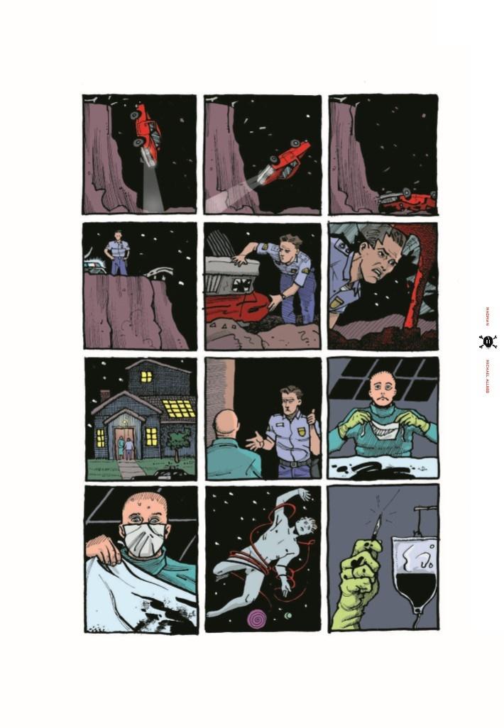 Madman_IDWL-pr-4 ComicList Previews: MIKE ALLRED'S MADMAN ARTIST SELECT HC