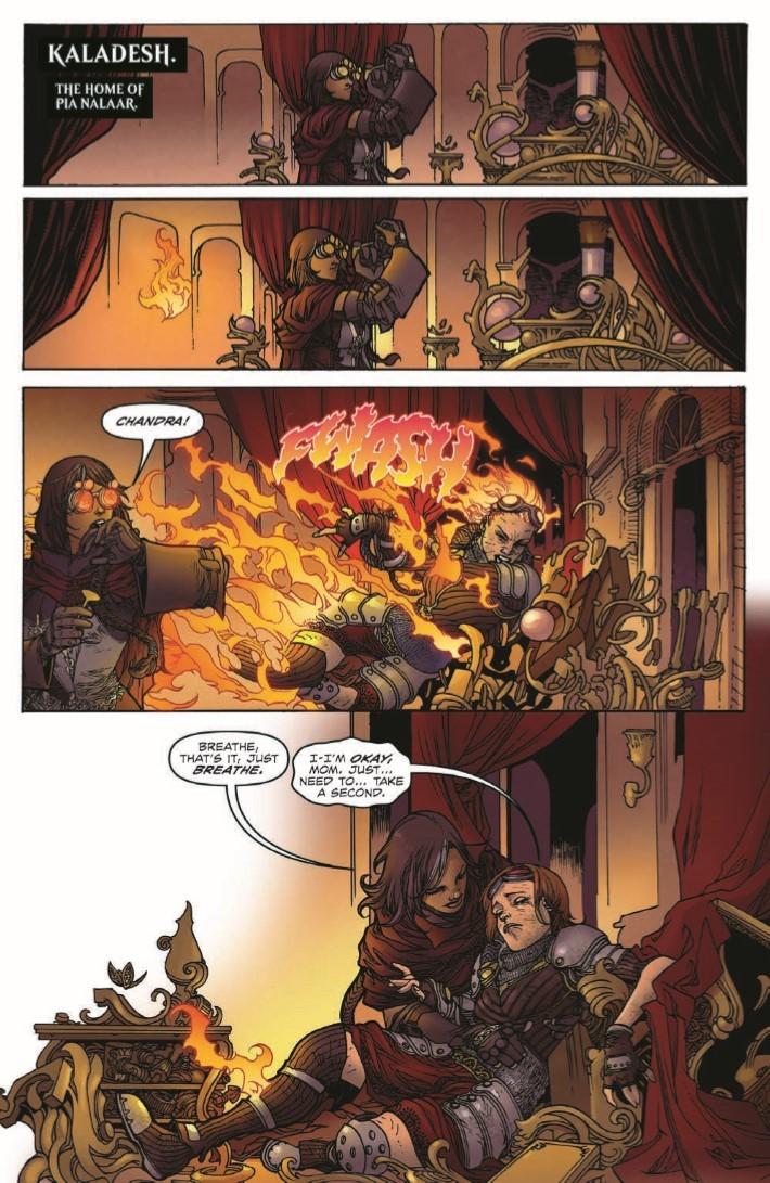 Magic_The_Gathering_Chandra_02-pr-3 ComicList Previews: MAGIC THE GATHERING CHANDRA #2
