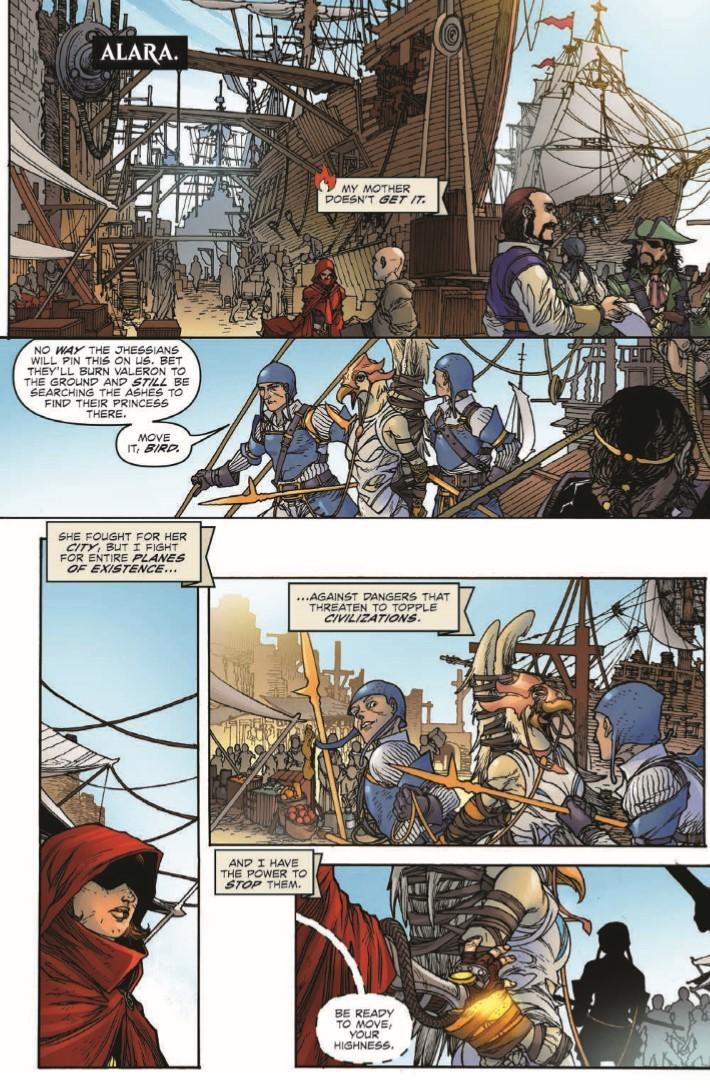 Magic_The_Gathering_Chandra_02-pr-6 ComicList Previews: MAGIC THE GATHERING CHANDRA #2