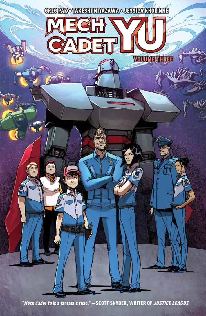 MechCadetYu_v3_SC_PRESS_1 ComicList Previews: MECH CADET YU VOLUME 3 TP