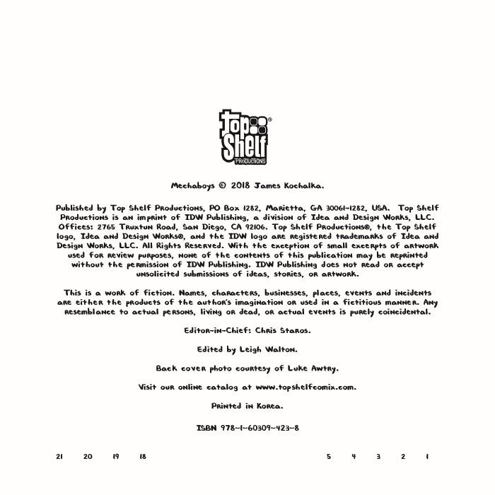 Mechaboys-pr-2 ComicList Previews: MECHABOYS TP