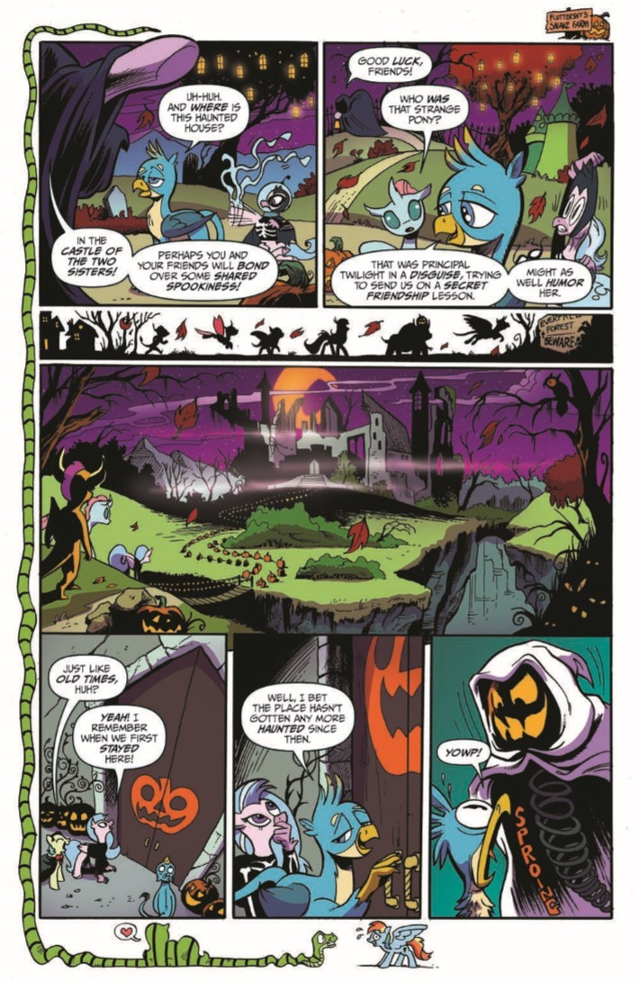 MyLittlePony_71-pr-6 ComicList Previews: MY LITTLE PONY FRIENDSHIP IS MAGIC #71