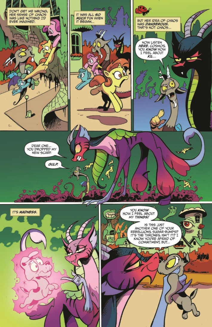 MyLittlePony_76-pr-4 ComicList Previews: MY LITTLE PONY FRIENDSHIP IS MAGIC #76