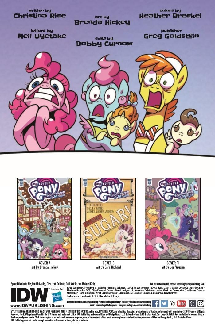 MyLittlePony_FiM_63-pr-2 ComicList Previews: MY LITTLE PONY FRIENDSHIP IS MAGIC #63