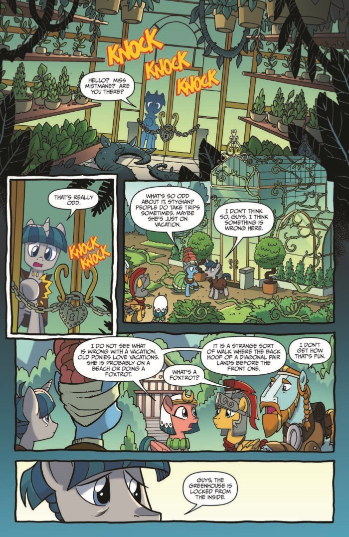 MyLittlePony_LoM_11-pr-3 ComicList Previews: MY LITTLE PONY LEGENDS OF MAGIC #11