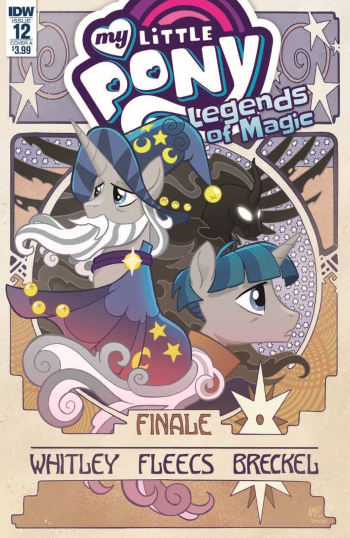 MyLittlePony_LoM_12-pr-1 ComicList Previews: MY LITTLE PONY LEGENDS OF MAGIC #12