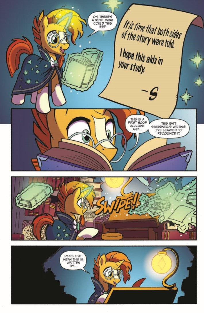 MyLittlePony_LoM_vol02-pr-6 ComicList Previews: MY LITTLE PONY LEGENDS OF MAGIC VOLUME 2 TP