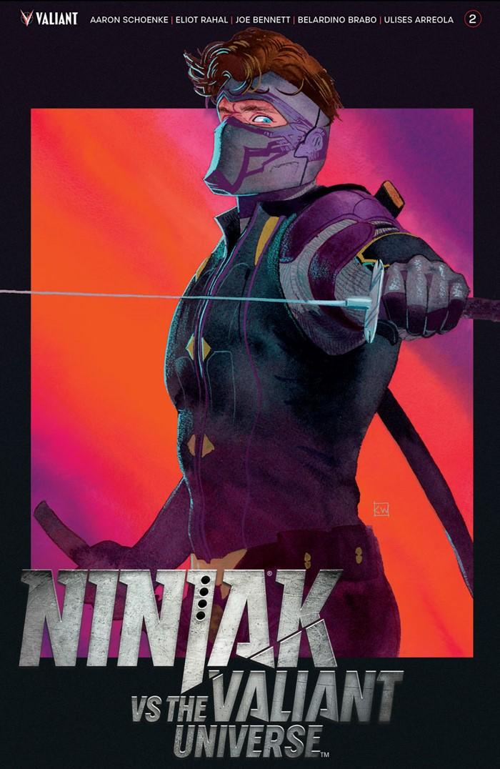 NJKVS_002_COVER-A_WADA ComicList Previews: NINJAK VS THE VALIANT UNIVERSE #2