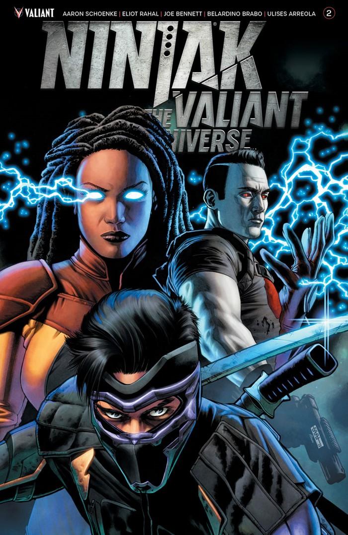 NJKVS_002_COVER-B_CAFU ComicList Previews: NINJAK VS THE VALIANT UNIVERSE #2