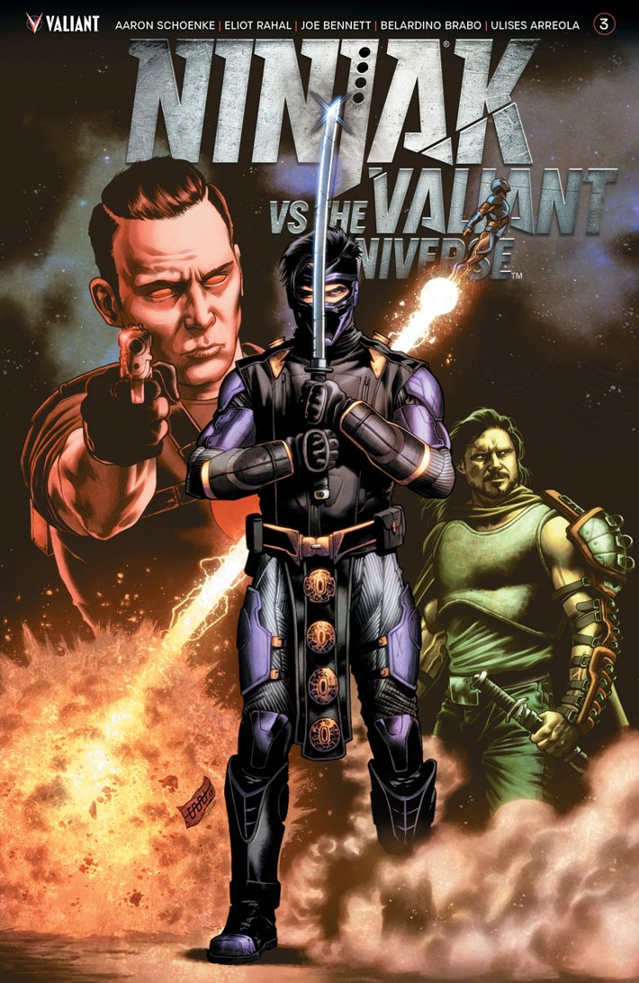 NJKVS_003_COVER-B_CAFU ComicList Previews: NINJAK VS THE VALIANT UNIVERSE #3