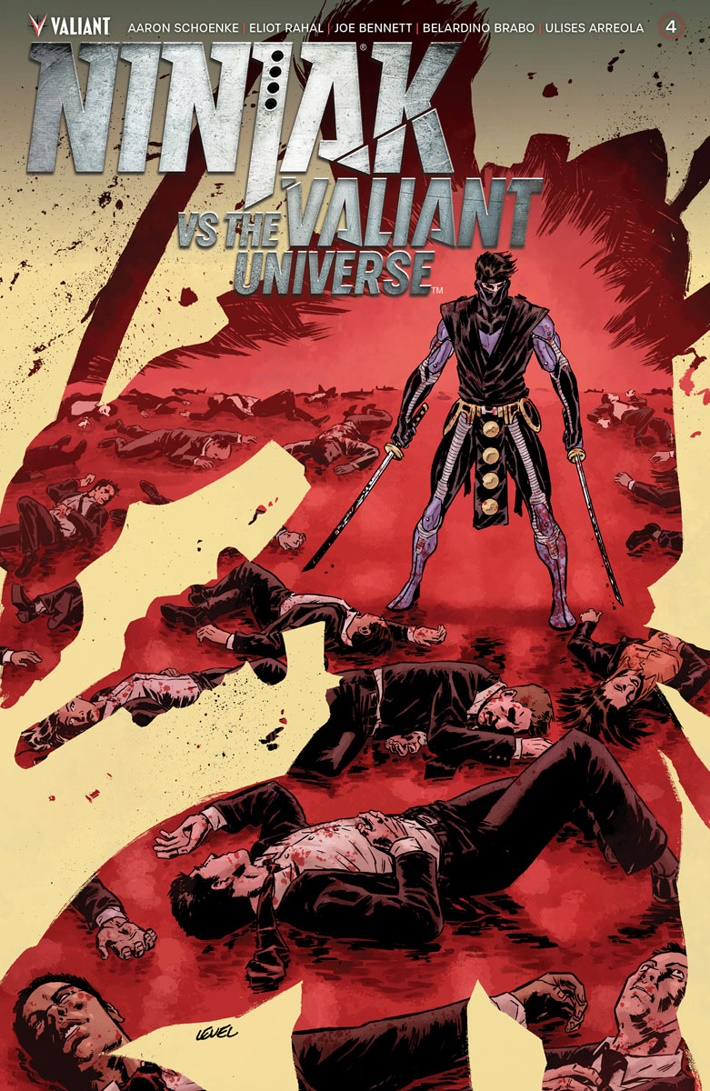 NJKVS_004_COVER-A_LEVEL ComicList Previews: NINJAK VS THE VALIANT UNIVERSE #4