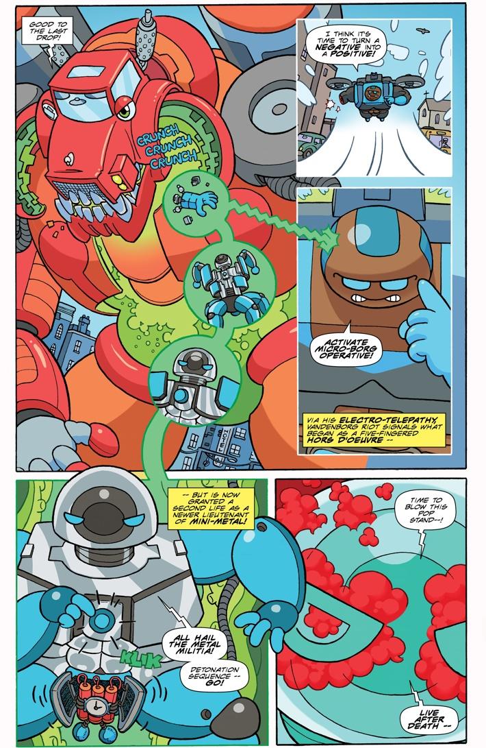 NLOM-01_p3 ComicList Previews: THE NEW LIEUTENANTS OF METAL #1