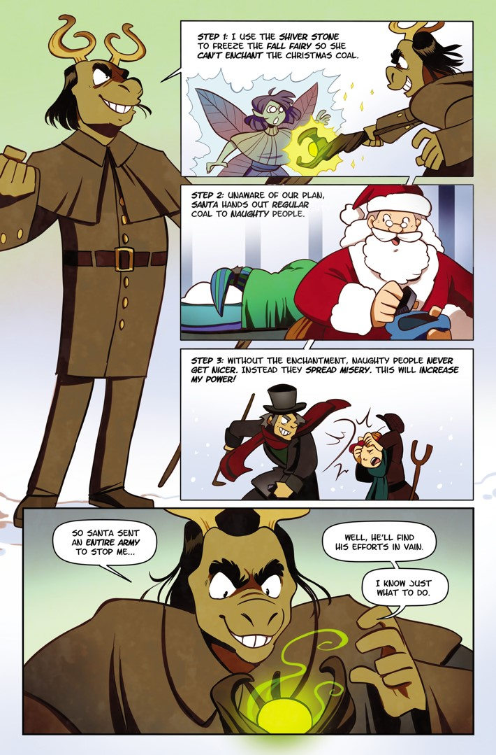 NS01-19-TheKrampus ComicList Previews: NORTHSTARS VOLUME 1 WELCOME TO SNOWVILLE HC