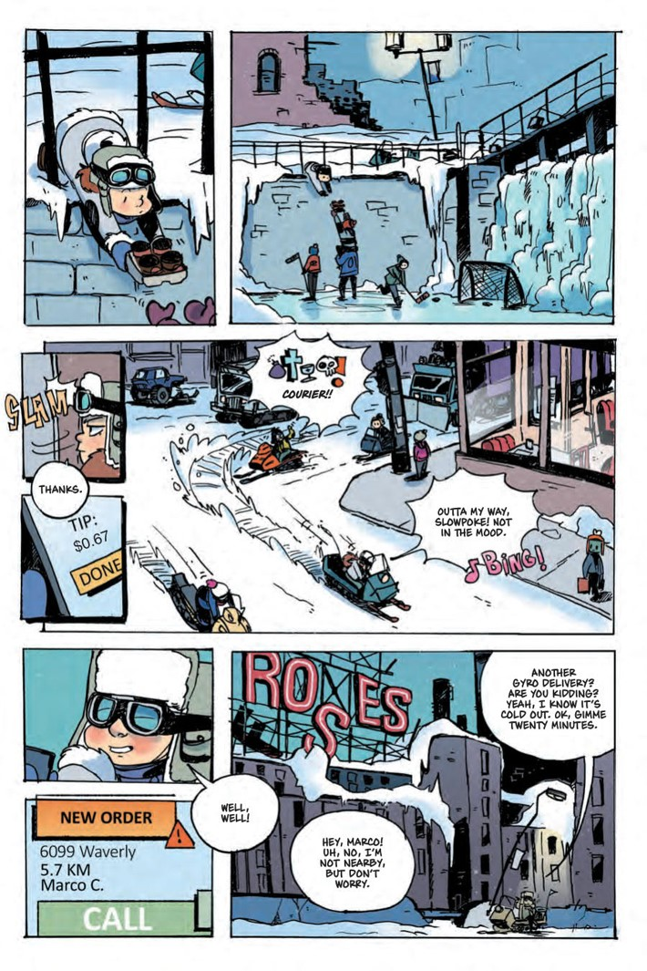 NuclearWinter_OGN2_SC_Press_14 ComicList Previews: NUCLEAR WINTER VOLUME 2 GN
