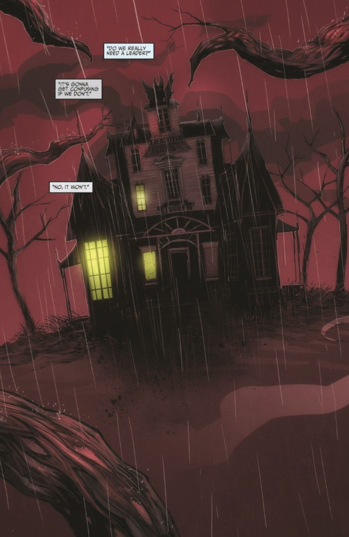 OctoberFaction_SuperDreams_01-pr-3 ComicList Previews: THE OCTOBER FACTION SUPERNATURAL DREAMS #1