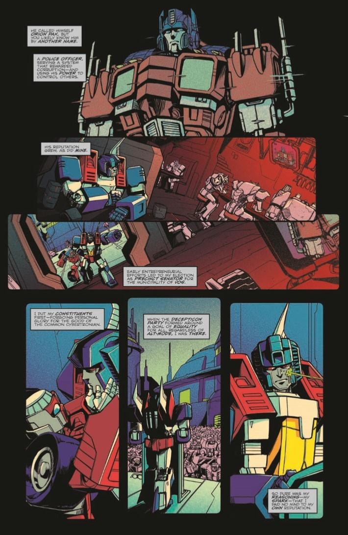 OptimusPrime_19-pr-4 ComicList Previews: OPTIMUS PRIME #19