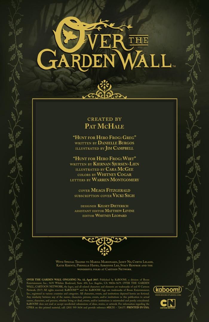 OvertheGardenWall_v2_012_PRESS_2 ComicList Preview: OVER THE GARDEN WALL #12