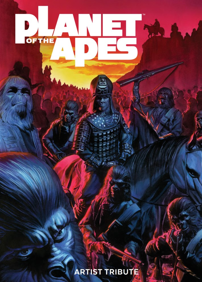 POTA_ArtistTribute_HC_PRESS_1 ComicList Previews: PLANET OF THE APES ARTIST TRIBUTE HC