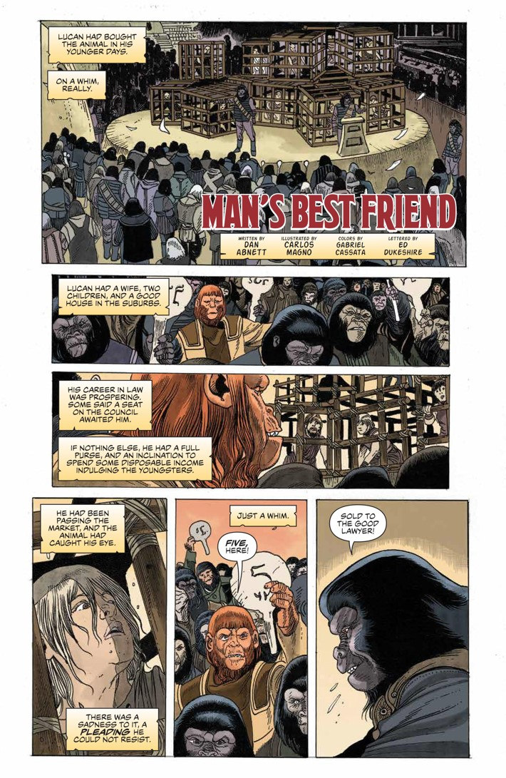 POTA_TimeofMan_001_PRESS_13 ComicList Previews: PLANET OF THE APES THE TIME OF MAN #1