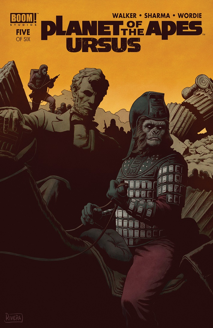 POTA_Ursus_005_A_Main ComicList Previews: PLANET OF THE APES URSUS #5