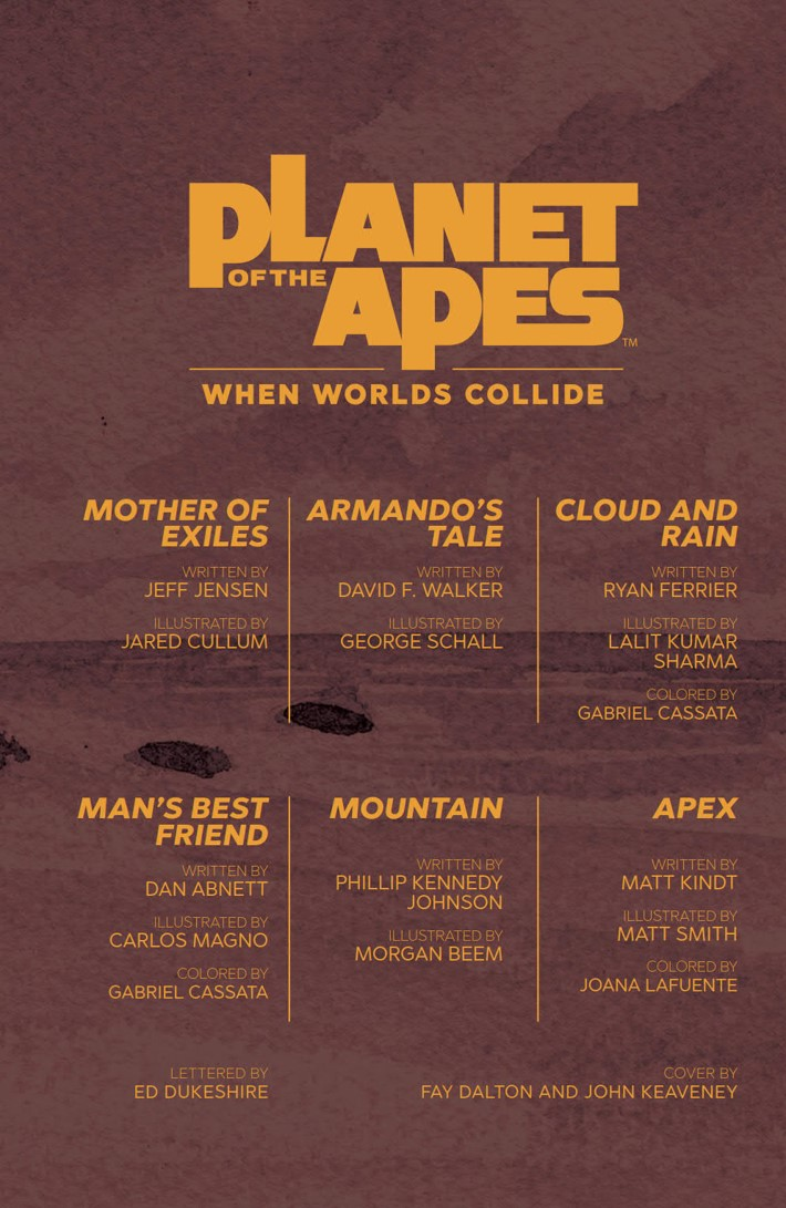 POTA_WhenWorldsCollide_PRESS_7 ComicList Previews: PLANET OF THE APES WHEN WORLDS COLLIDE SC