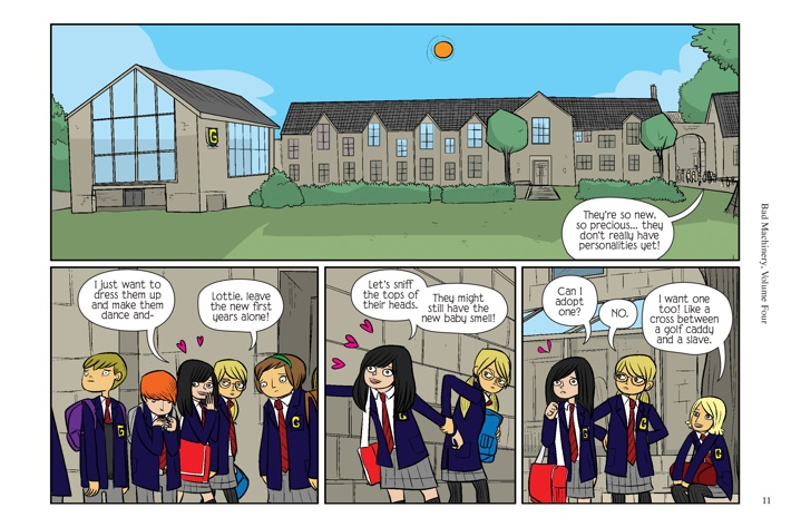 Pages-from-BMACHV4-PE-MARKETING-2-4 ComicList Previews: BAD MACHINERY POCKET EDITION VOLUME 4 THE CASE OF THE LONELY ONE GN