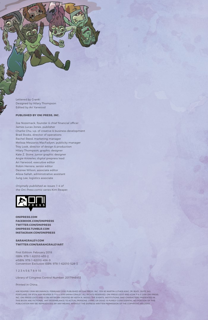 Pages-from-KIMREAPERV1-MARKETING-3 ComicList Previews: KIM REAPER VOLUME 1 GRIM BEGINNINGS TP