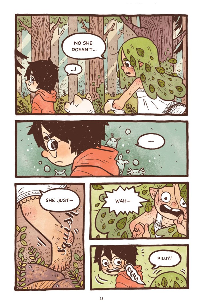 Pages-from-PILU-V1-REFERENCE-3-5 ComicList Previews: PILU OF THE WOODS GN