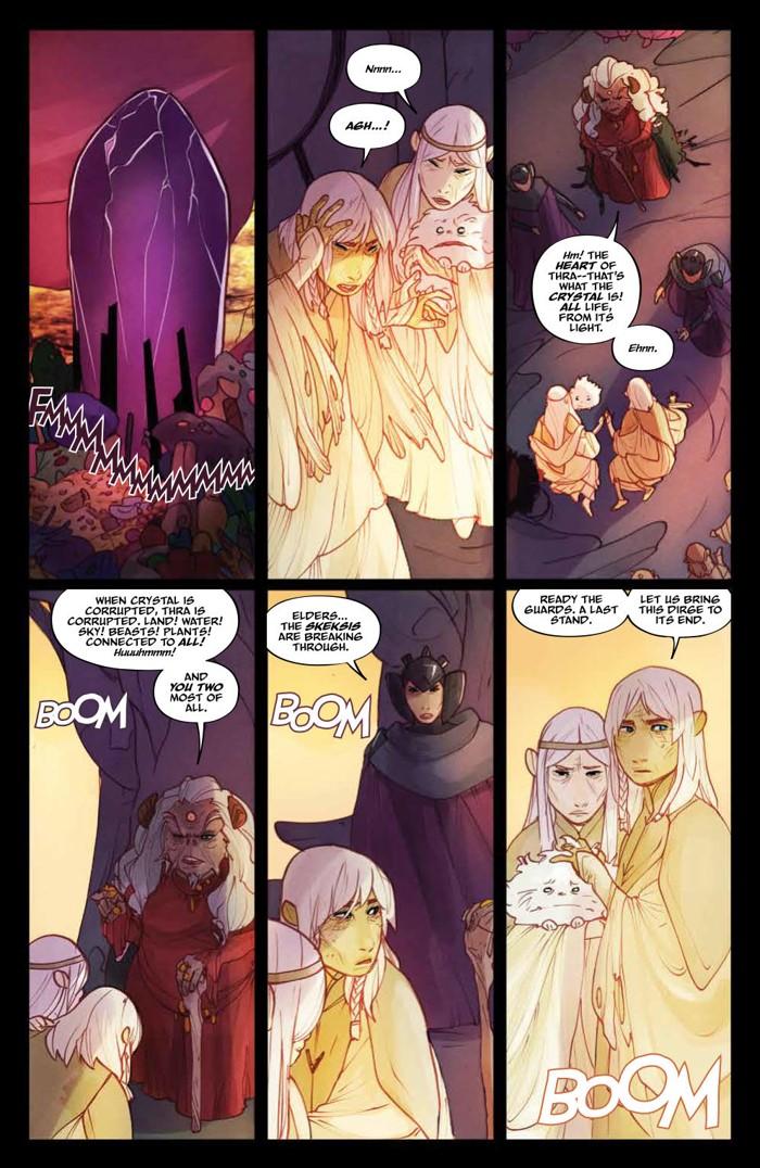 PowerDarkCrystal_011_PRESS_5 ComicList Previews: JIM HENSON'S THE POWER OF THE DARK CRYSTAL #11