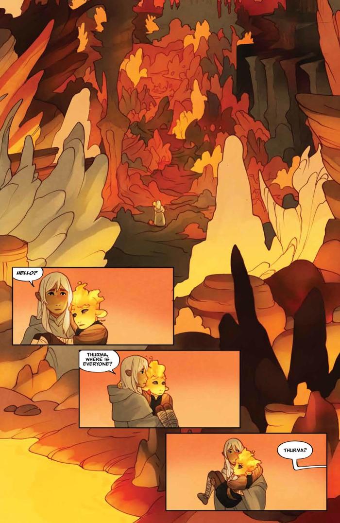 PowerDarkCrystal_011_PRESS_6 ComicList Previews: JIM HENSON'S THE POWER OF THE DARK CRYSTAL #11
