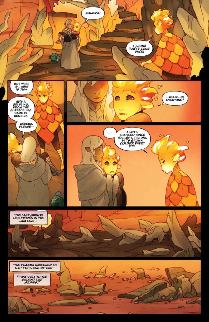 PowerDarkCrystal_011_PRESS_7 ComicList Previews: JIM HENSON'S THE POWER OF THE DARK CRYSTAL #11