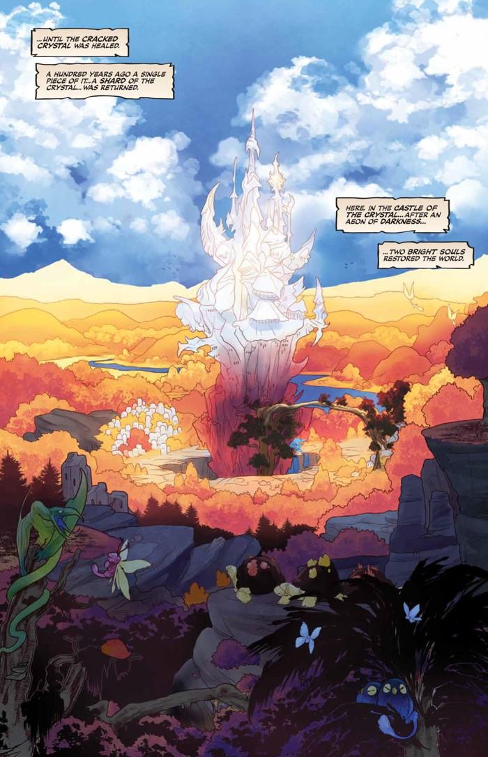 PowerDarkCrystal_v1_HC_PRESS_12 ComicList Previews: JIM HENSON'S THE POWER OF THE DARK CRYSTAL VOLUME 1 HC