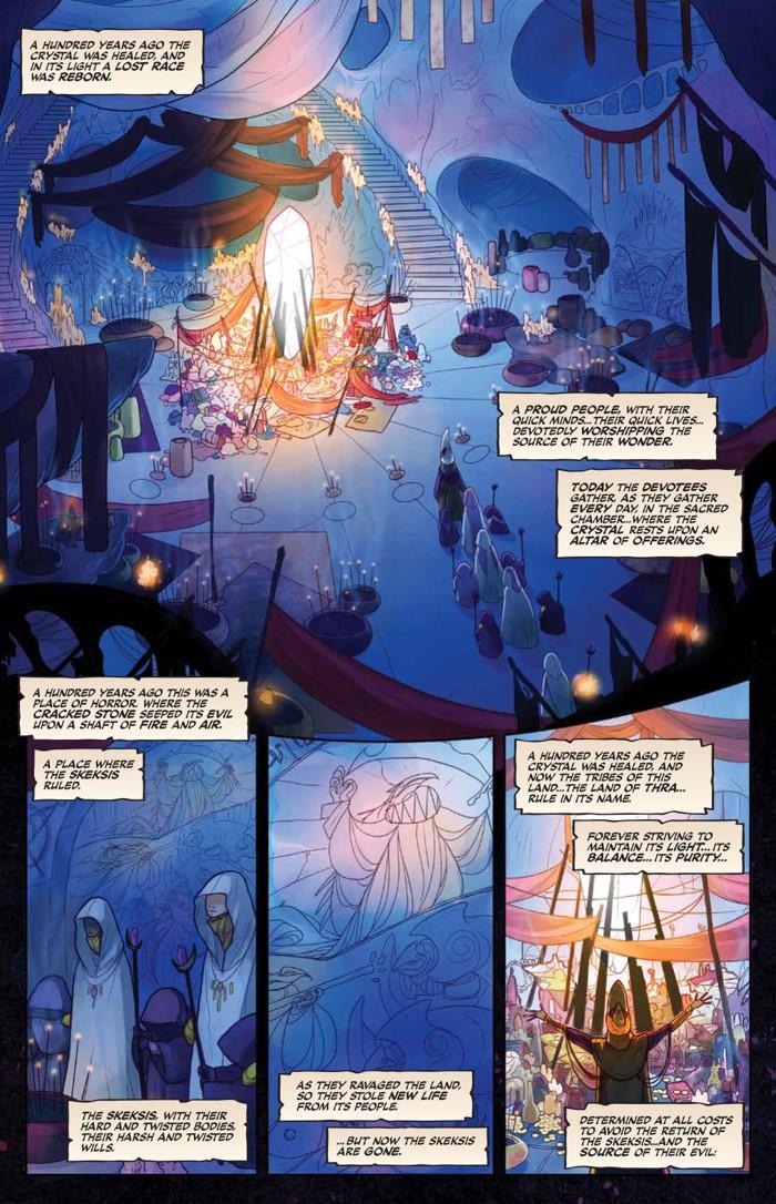 PowerDarkCrystal_v1_HC_PRESS_13 ComicList Previews: JIM HENSON'S THE POWER OF THE DARK CRYSTAL VOLUME 1 HC