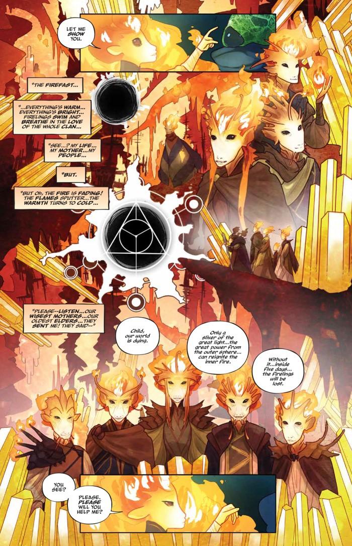 PowerDarkCrystal_v1_HC_PRESS_20 ComicList Previews: JIM HENSON'S THE POWER OF THE DARK CRYSTAL VOLUME 1 HC