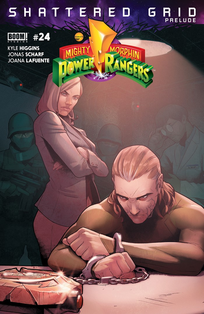 PowerRangers_024_A_Main ComicList Previews: MIGHTY MORPHIN POWER RANGERS #24
