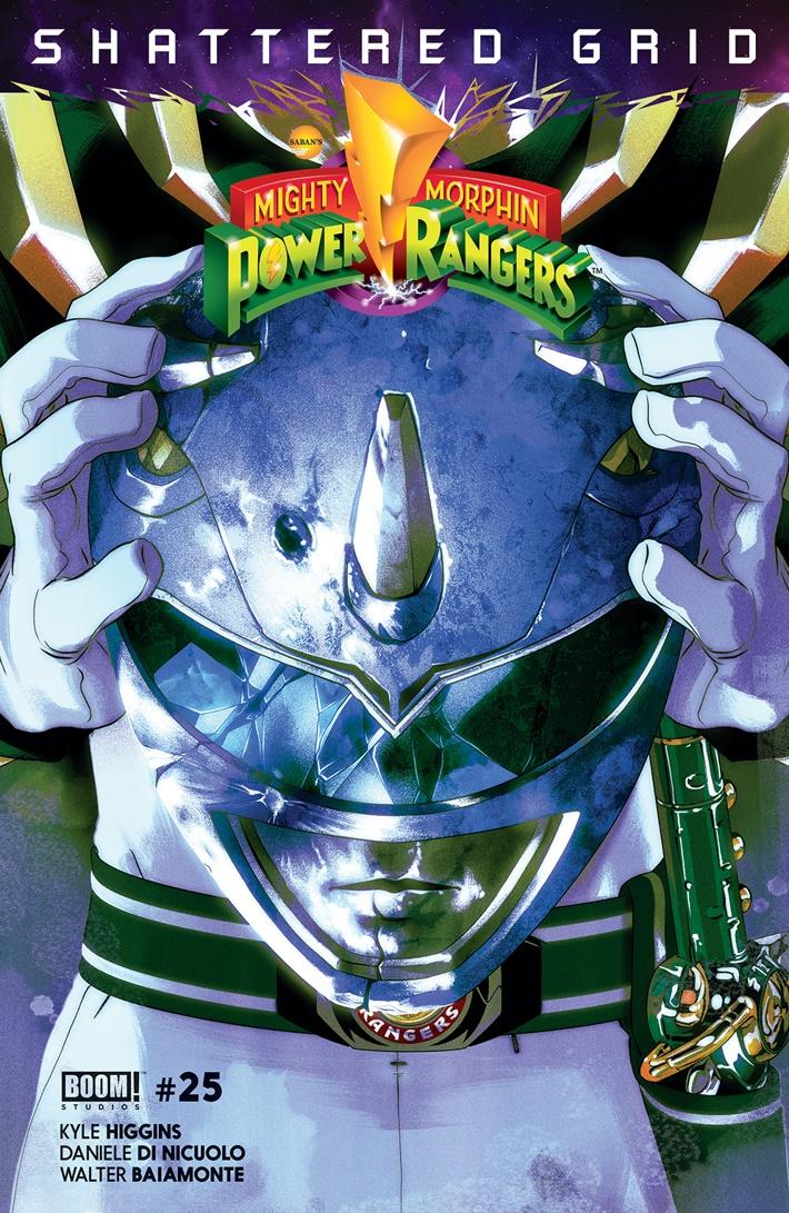 PowerRangers_025_C_Intermix_Blue ComicList Previews: MIGHTY MORPHIN POWER RANGERS #25