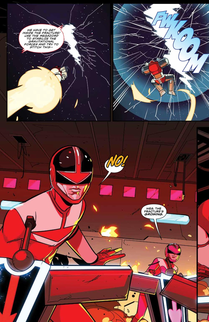 PowerRangers_025_PRESS_4 ComicList Previews: MIGHTY MORPHIN POWER RANGERS #25 (2ND PRINTING)