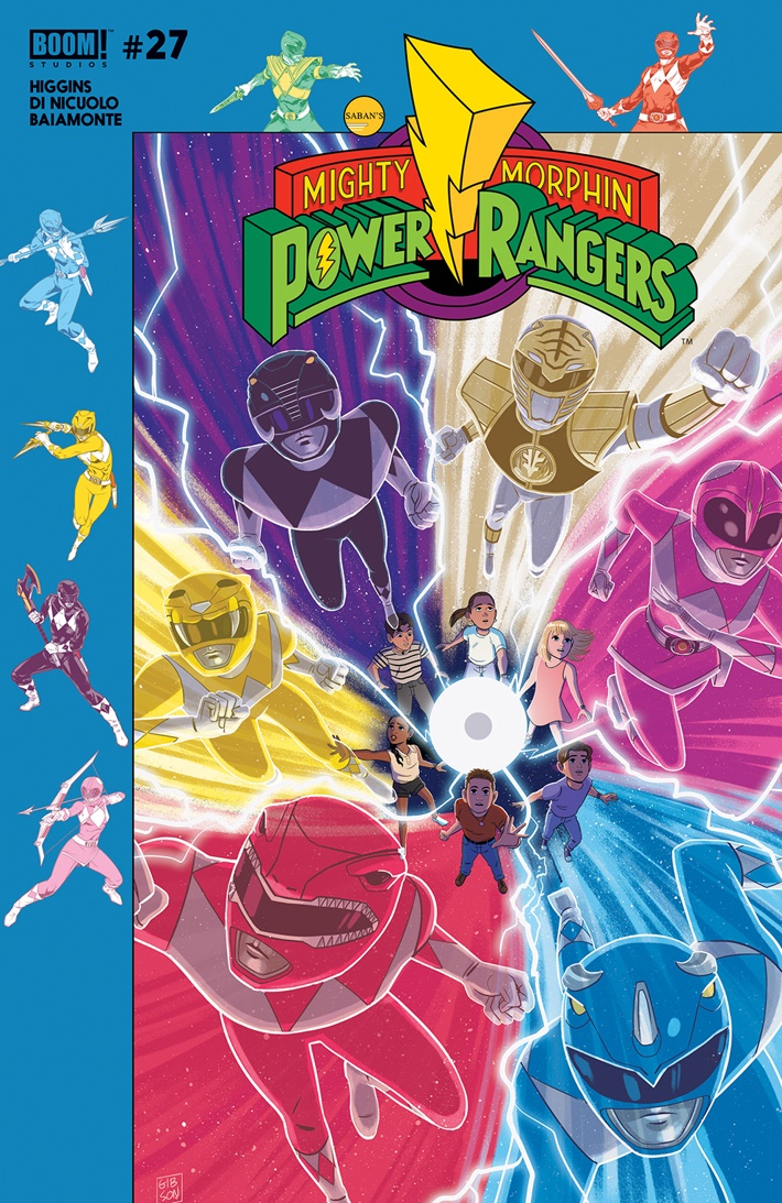 PowerRangers_027_B_Subscription ComicList Previews: MIGHTY MORPHIN POWER RANGERS #27