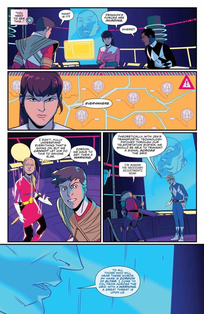 PowerRangers_027_PRESS_5 ComicList Previews: MIGHTY MORPHIN POWER RANGERS #27