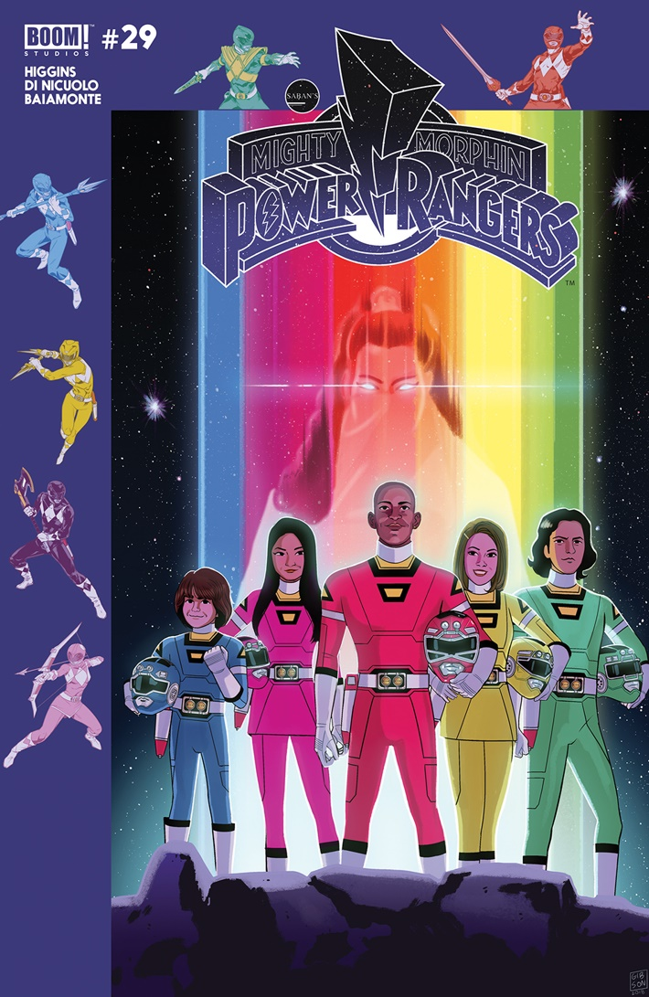 PowerRangers_029_B_Subscription ComicList Previews: MIGHTY MORPHIN POWER RANGERS #29