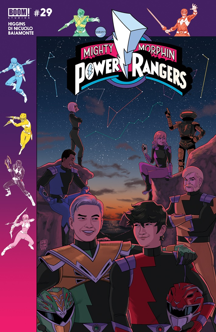 PowerRangers_029_D_Hyperforce ComicList Previews: MIGHTY MORPHIN POWER RANGERS #29