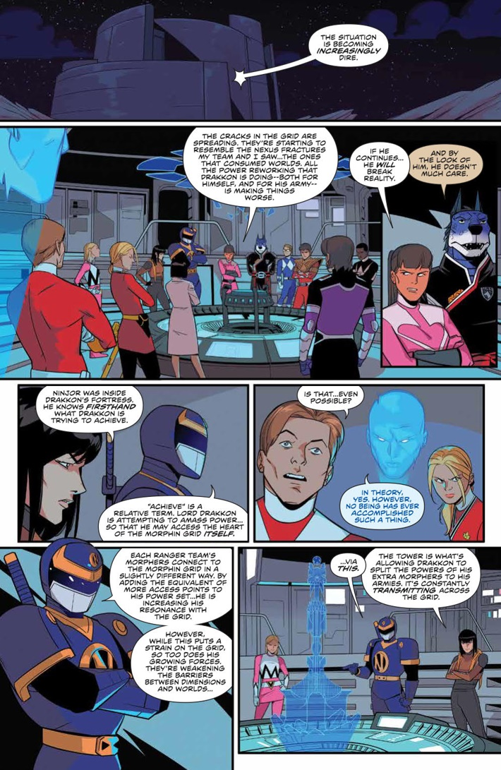 PowerRangers_029_PRESS_4 ComicList Previews: MIGHTY MORPHIN POWER RANGERS #29