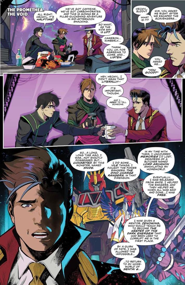 PowerRangers_035_PRESS_2 ComicList Previews: MIGHTY MORPHIN POWER RANGERS #35
