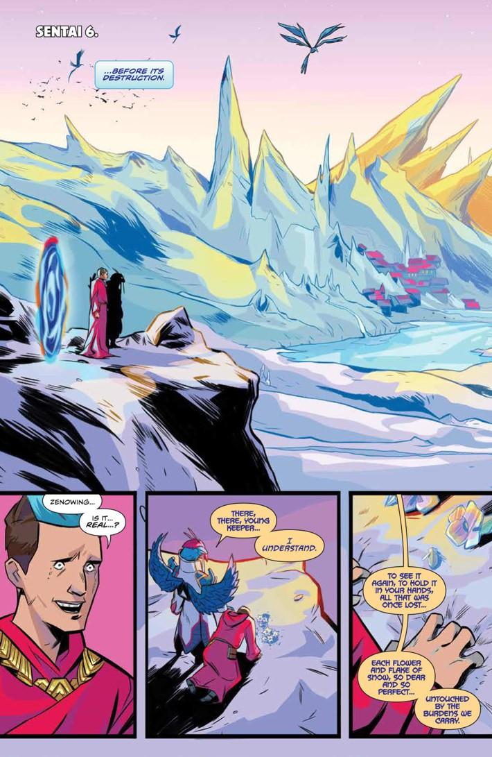 PowerRangers_035_PRESS_3 ComicList Previews: MIGHTY MORPHIN POWER RANGERS #35