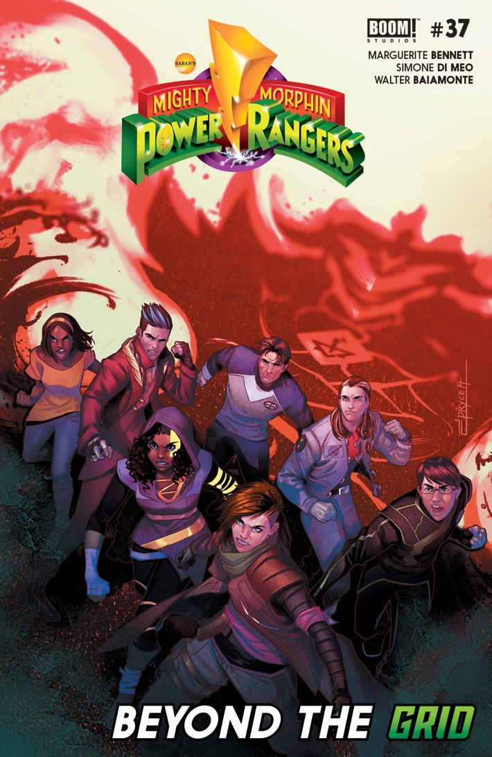 PowerRangers_037_Cover_A_Main ComicList Previews: MIGHTY MORPHIN POWER RANGERS #37