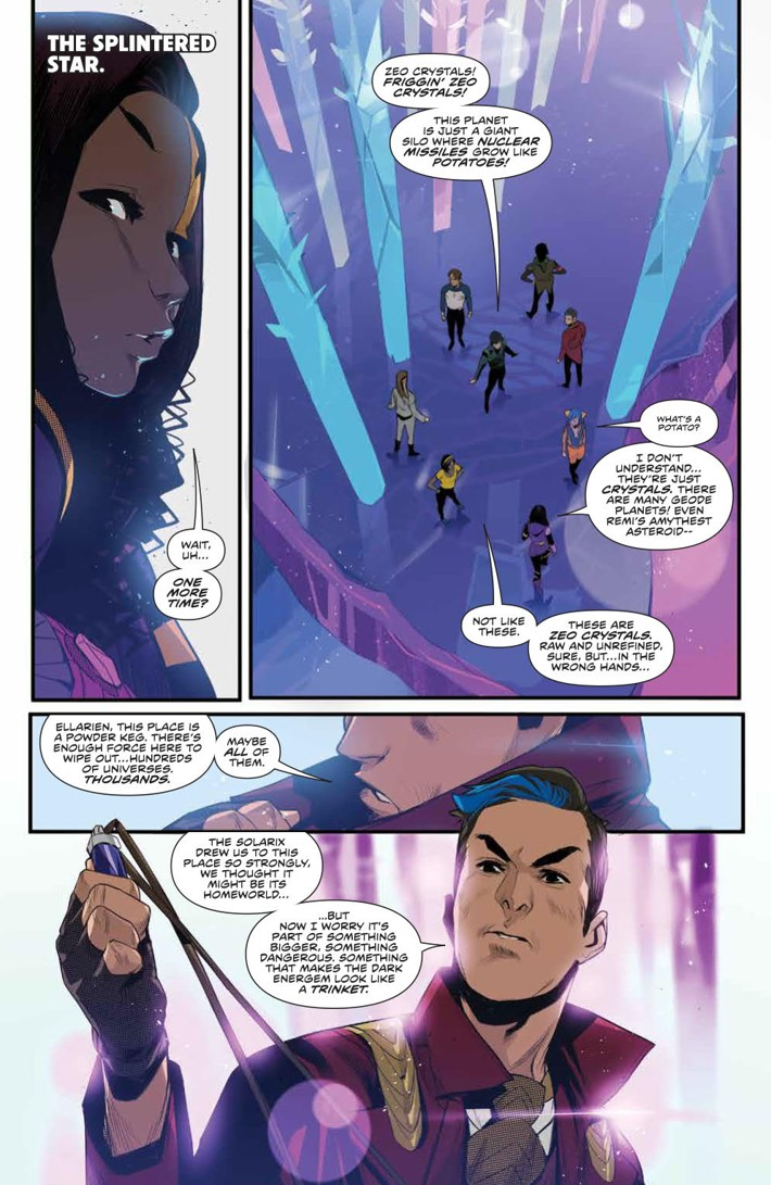 PowerRangers_037_PRESS_3 ComicList Previews: MIGHTY MORPHIN POWER RANGERS #37