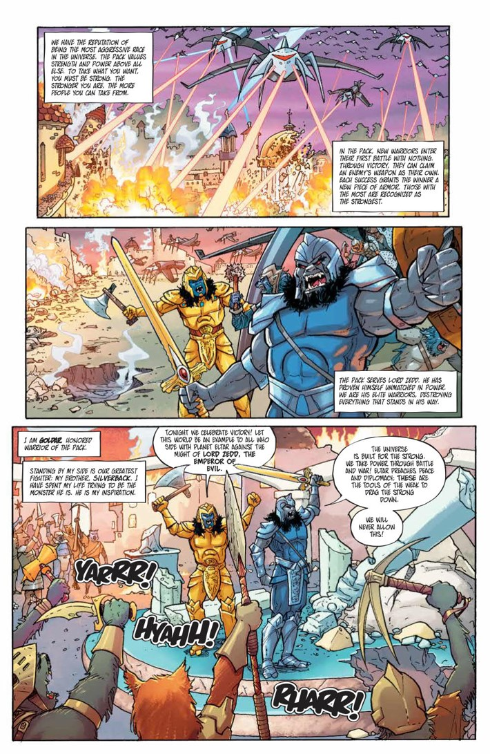 PowerRangers_LostChronicles_v1_SC_PRESS_33 ComicList Previews: MIGHTY MORPHIN POWER RANGERS LOST CHRONICLES VOLUME 1 TP