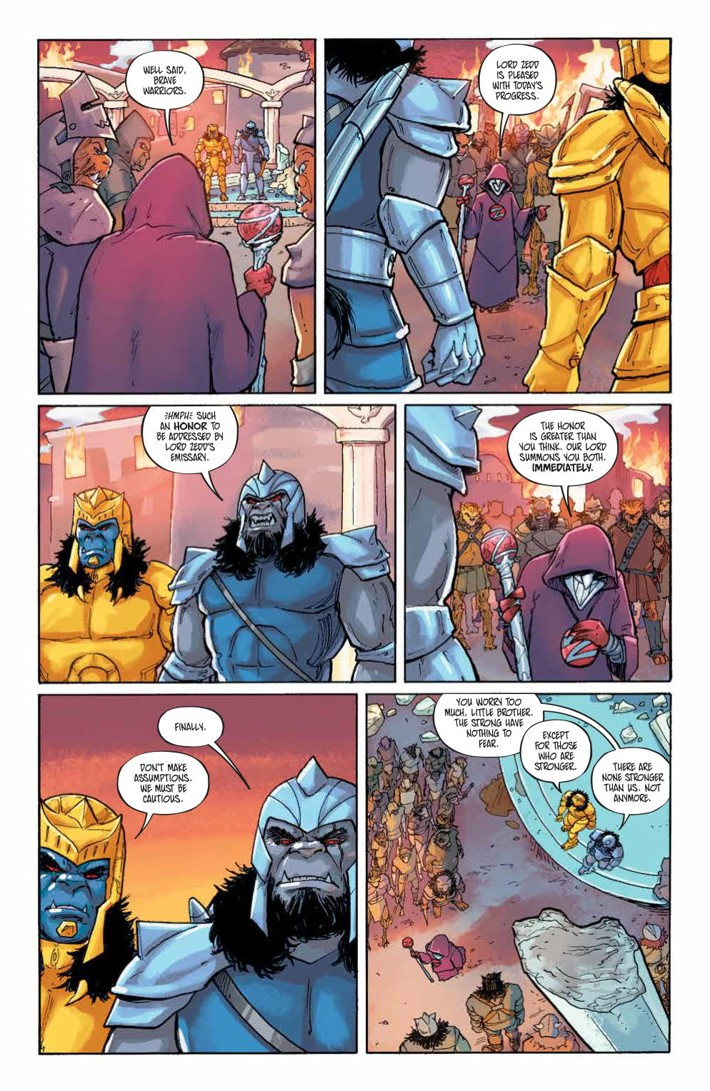 PowerRangers_LostChronicles_v1_SC_PRESS_34 ComicList Previews: MIGHTY MORPHIN POWER RANGERS LOST CHRONICLES VOLUME 1 TP