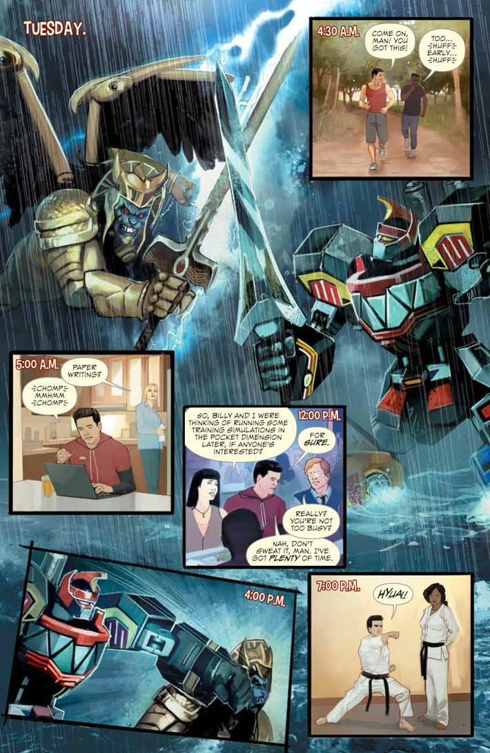 PowerRangers_LostChronicles_v1_SC_PRESS_8 ComicList Previews: MIGHTY MORPHIN POWER RANGERS LOST CHRONICLES VOLUME 1 TP