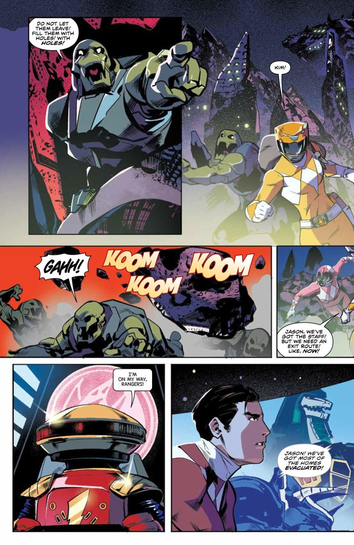 PowerRangers_v5_SC_PRESS_10 ComicList Previews: MIGHTY MORPHIN POWER RANGERS VOLUME 5 TP